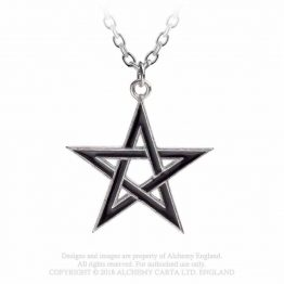 P775 Black Star Pendant