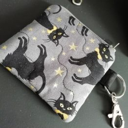 Cats Gothic Coin Purse