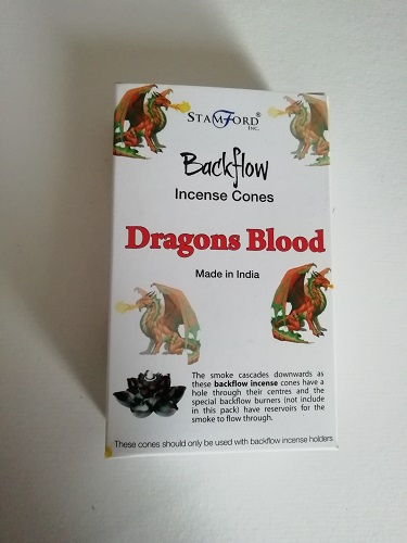 Dragons Blood Backflow Incense Cones