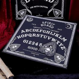 Black and White Spirit Board with Planchette