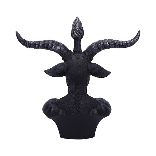 Celestial Black and Silver Baphomet Bust