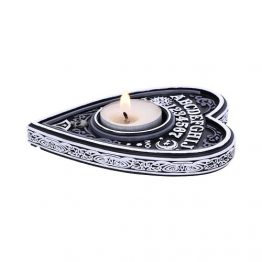 Black and White Spirit Board Tea Light Holder
