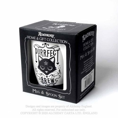 purrfect-brew-mug-and-spoon-set ALMUG20 Alchemy England