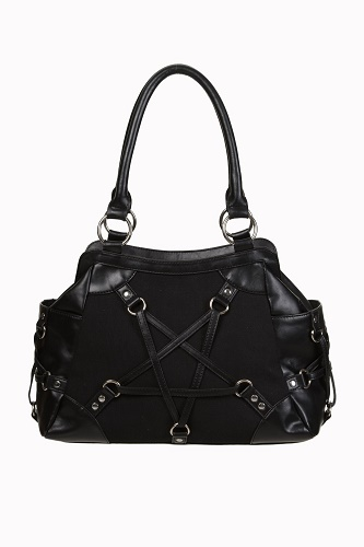 Stand Still Pentagram Handbag Banned Apparel