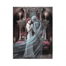 Extraordinary 'Forever Yours' canvas plaque design by Anne Stokes.