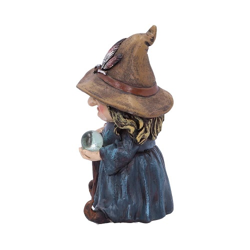 d5051r0 Trouble Small Witch and Crystal Ball Figurine