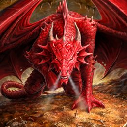ASC09 Dragons Lair Postcard Anne Stokes