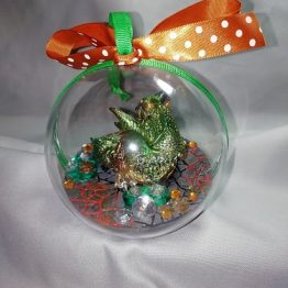 Dragon Bauble Green