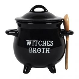 Witches Broth Cauldron Soup Bowl FI_58538