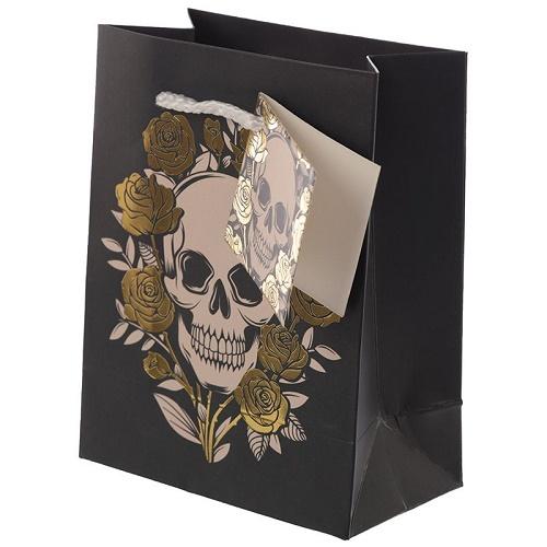 Skull & Roses Gift Bag Small