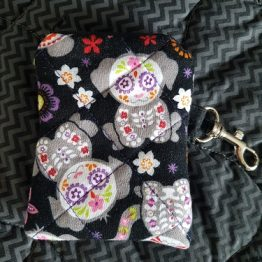 Day of The Dead Doggy Coin Purse
