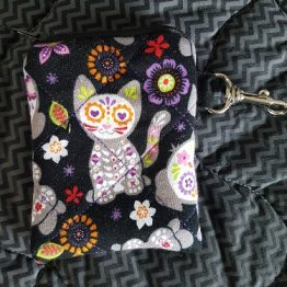Day of The Dead Kitty Coin Purse