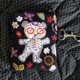 Day of The Dead Teddy Coin Purse