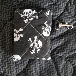 Skull and Cross Bones Coin Purse