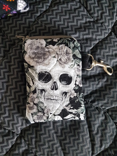 Skulls and Roses Coin Purse