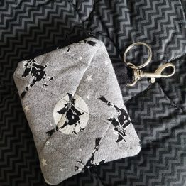 Witch on Broomstick Coin Purse