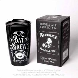 Bat Brew Double Wall Mug Alchemy England