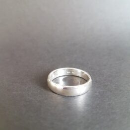 Vamp Band Ring Sterling Silver