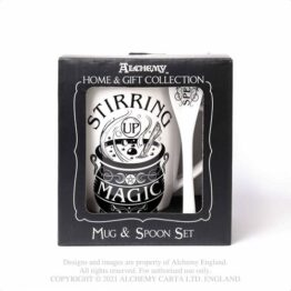 Stirring up Magic Cup and Spoon Set Alchemy England
