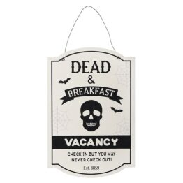 HA_37731 Dead and Breakfast Hanging Sign