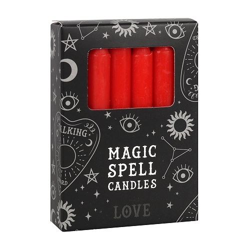 Red Spell Candles FI_15428
